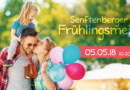 Frühlingsfest wird zur Senftenberger Frühlingsmeile am 5. Mai von 10 bis 20 Uhr