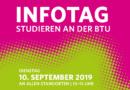 Zum Infotag, Studieren an der BTU, lädt die Universität nach Cottbus und Senftenberg ein