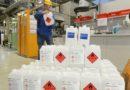 BASF Schwarzheide stellt Teile der Produktion auf Hand-Desinfektionsmittel um