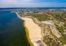 Große Baufortschritte am zukünftigen Strand des Großräschener Sees