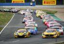 ADAC GT Masters mit acht Marken und 33 Supersportwagen auf dem Lausitzring