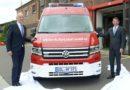 Woidke nimmt neues Umweltmessfahrzeug der BASF-Werkfeuerwehr in Betrieb