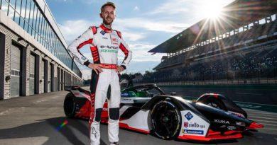 René Rast zum ersten Mal im Formel-E-Audi auf dem Lausitzring