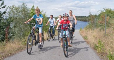 Neue Rätselradtour für Familien um den Senftenberger und Geierswalder See