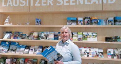 Dana Kersten leitet Touristinformationen