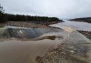 Viel Wasser fließt aktuell in die zukünftigen Seenland-Seen