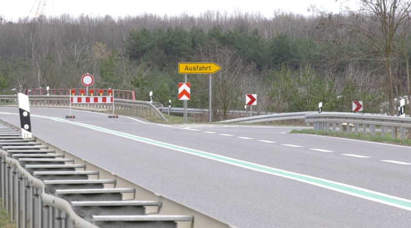 Vollsperrung der B169 bei Sedlitz dauert mehrere Monate [VIDEO]