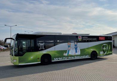 Impfbus des Landkreises OSL nimmt Betrieb auf