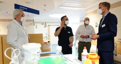 Besucher und geplante Behandlungen im Klinikum Niederlausitz bald wieder möglich